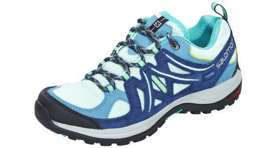 Salomon Ellipse 2 Aero Hiking Shoes Women igloo blue/slateblue/teal blue f